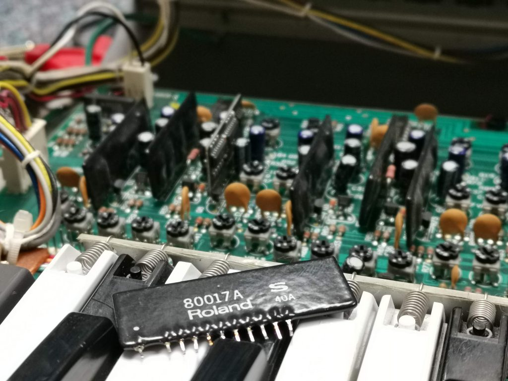 Roland juno voice chip 80017a