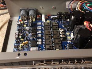 Gallien krueger solid state amplifier inside