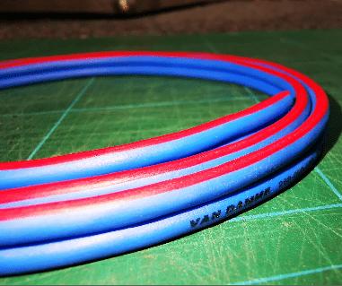 Technics 1210 vdc blue cable