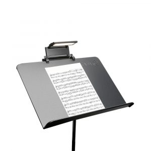 Clip on music stand light