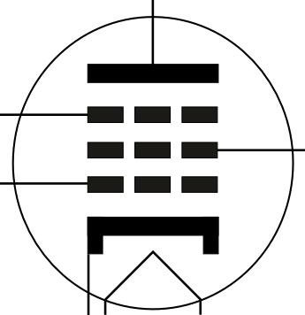 Electron valve electronic symbol