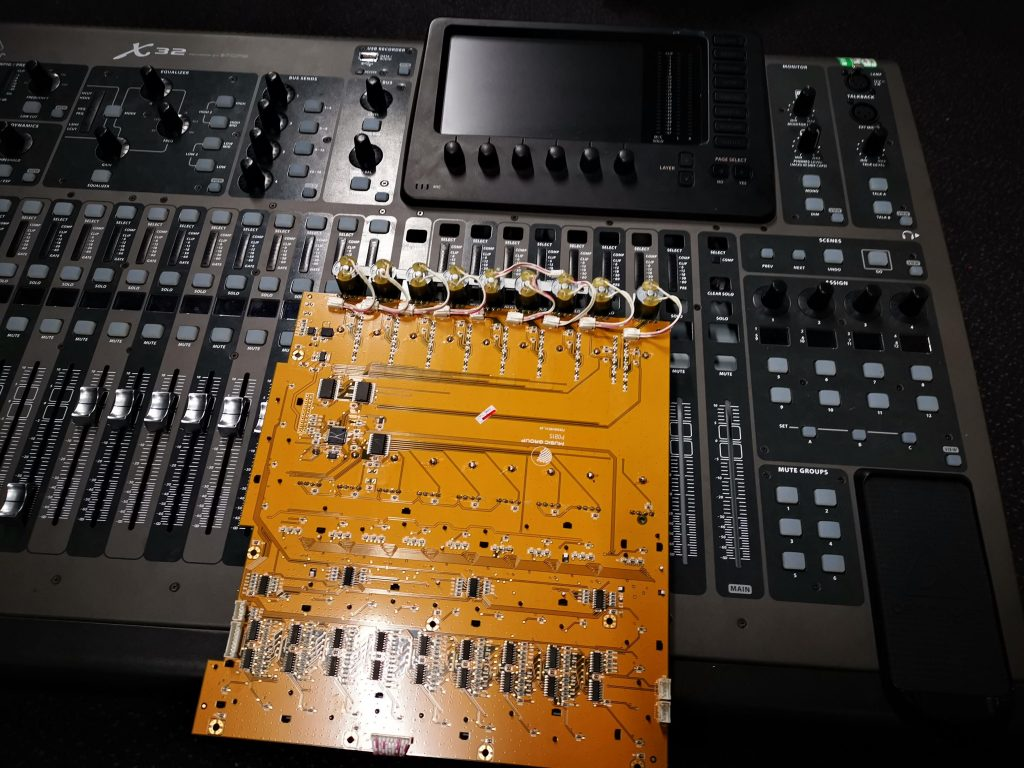 Behringer X32 Fader replacement