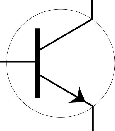 Transistor electronic symbol