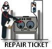 Repair ticket logo