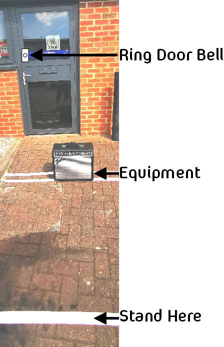 Covid procedure for amp drop off