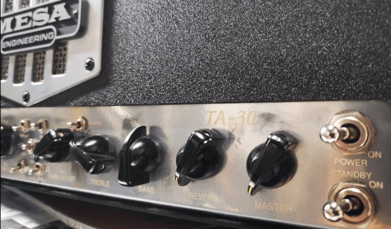 Mesa / boogie ta-30 fx noise fix