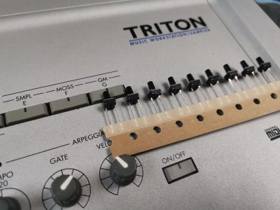 Korg triton tact switches 2 pin replacements